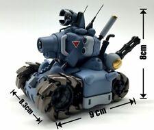 8cm Blue Metal Slug Assemble Tankette Collectors Action Figure Toys Gift Toy