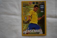 "Panini Adrenalyn FIFA 365  2018 Trading Game Card  Nr. 328 "" CASEMIRO """