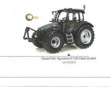 Tractor Deutz Fahr Agrotron K120 Ediz.limitata Universal Hobbies 1 43 -6064-
