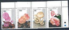 Nevis 1992 Funghi III°serie 626-29 mnh