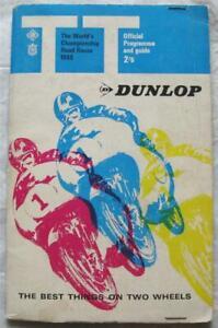 ISLE OF MAN TT Jun 1968 Tourist Trophy Official Programme + Score Card