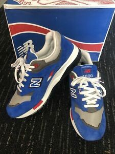 New Balance 1600 Barber Shop Pack Sneakers Size 9 Blue CM1600BB