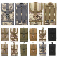 Outdoor Tactical Phone Case Bag Army Military Waist Bag Hook Loop Belt Pouch