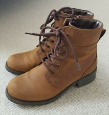 Clarks Orinoco Spice Brown Ankle Boots Size 5