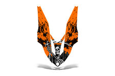 Yamaha APEX Hood Decal Wrap Graphic Kit XTX Sled Snowmobile 2006-2011 REAP ORANG