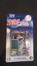 New York Yankeess 2018 Topps Factory Sealed Team Set Aaron Judge