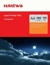A4 Overhead Projector Sheets OHP Sheet Clear  For Laser Print - 100 Sheets