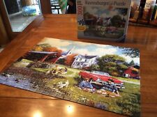 300 Pc Puzzle Large Format Scenic  Ravensburger LAZY DAZE