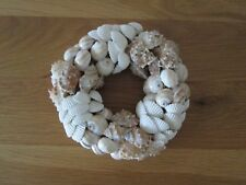 real shell wall art plaque