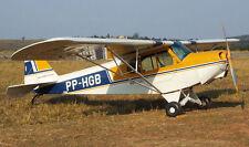 Cap-4 Paulistinha Brazil Military Airplane Handcrafted Wood Model Regular New