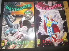 King Hell Press Comic Rick Veitch's The MAXIMORTAL Lot of 2 # 4 # 5 Sam Parsons