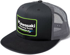 Factory Effex Kawasaki Racing Snapback Hat-Grey/Black - Mens