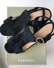 Country Road Sz 38 39 40 41 CR Love Trenery Katerina Sandal Suede 7 8 9 10 40