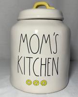 "Rae Dunn Ceramic ""MOM'S KITCHEN"" Canister (Brand New!)"