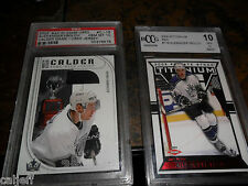 2 CARD LOT 2002 BAP GAM USED JERSEY PSA 10 FROLOV & TITANIUM RED BCCG ROOKIE RC