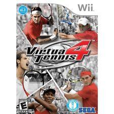 Virtua Tennis 4 Nintendo Wii NTSC Version NEW SEALED