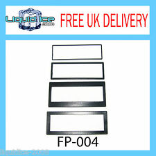 Peugeot 207 307 1007 Black Single Din Fascia Adaptor Panel Surround Stereo CD