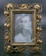 Jugendstil Bilderrahmen Antik Fotorahmen Rechteckig Rahmen Gold Blätter Design