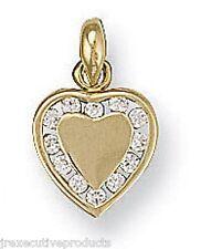 Colgante Corazón Collar Oro Amarillo Pequeño Corazon