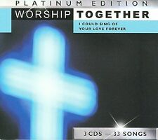 Worship Together Platinum Edition: I Could Sing Of Your Love Forever 3 CD BOGO