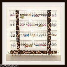 """TEEN"" GG Earring Holder & Jewelry Organizer GIRAFFE Animal Print Fabric ""Sale"""