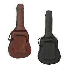 Durable Guitar Gig Bag Soft Case PU Leather Bag for 40'' 41'' Guitar Parts