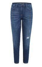 Ladies Ex M&S Indigo Collection Girlfriend Distress Stretch Jeans RRP £35 BNWOT