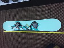Burton A49 Snowboard with nitro clicker shoes and bag