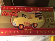 1996 LIMITED EDITION COCA COLA PEDAL CAR DELIVERY TRUCK - New in Box