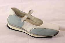Prada Calzature Donna Calf Sport Bico Mary Jane Sneakers Shoes Sz 38.5/8.5 BNIB