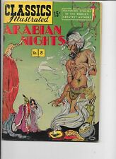 Classics Illustrated #8  hrn 64  Arabian Nights