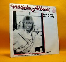 "Vinyl 7"" Single 45 Willeke Alberti Het Is Nog Niet Voorbij 2TR 1982 (MINT) ! Pop"