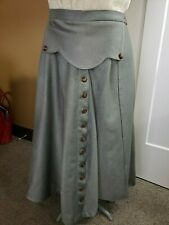 Vintage Style Sidesaddle or Astride Riding Skirt