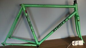 VINTAGE 53cm RIBBLE REYNOLDS 653 STEEL FRAME AERO CABLING 130mm dropouts F1#