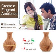 Wood Grain Ultrasonic Humidifier Essential Diffuser Aroma Aromatherapy Purifier