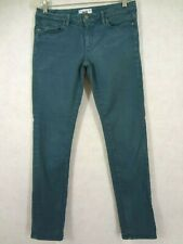 Paige Skyline Skinny Colored Jeans Size 30 Tail Stretch