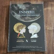 SHINee JONGHYUN Concert Concept Badge Series1 INSPIRE Pin Badge Free Shipping