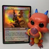 Dragon Mage ✨ Foil NM 🪄 Core Set 2020 🪄 Magic The Gathering 🪄 MTG 🪄 EDH 🪄