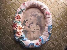 Floral Desk/Mantle Picture Frame