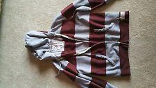 American Eagle mens XL coat. grey and burgandy. Good condition