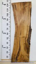 Oak Waney Edge Pippy Wood Plank Figured Bathroom Vanity Unit Coffee Table Top