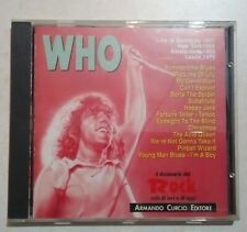 THE WHO - LIVE 1967 / 1970 - DIZIONARIO DEL ROCK  - 1991 - OTTIME CONDIZIONI