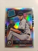 2017 Joe Musgrove RC Prizm Silver Refractor Donruss Optic Baseball Rated Rookie