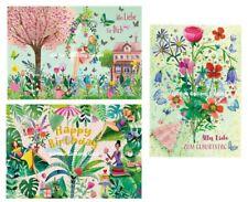 MILA MARQUIS*Doppelkarte*Alles Liebe*Geburtstag*Gartenidylle*Blumenstrauß*