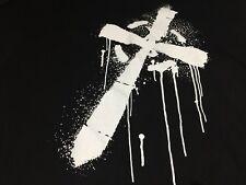 WWE Celtic Warrior Sheamus Black w/ White Cross Laoch Men's T-shirt L
