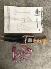Barbie Photo Fashion Doll Built In Camera Includes Cable & Instructions