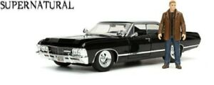 JADA 32250 1/24 1967 CHEVY IMPALA WITH DEAN WINCHESTER FIGURE