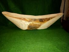 Untreated Rustic Hand Carved Natural wood Bowl.