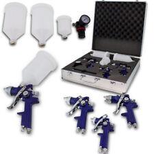 BITUXX® 3er Set HVLP Lackierpistolen Druckluftpistole Spritzpistole Lack Farbe