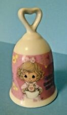 "Precious Moments 2001 Ceramic Bell ""Grandma Your Love Just Hits The Spot"""